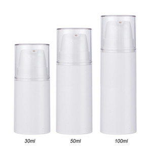 30ml 50ml100ml Empty Airless Bottle Manufacturer China Airless Pump Bottle