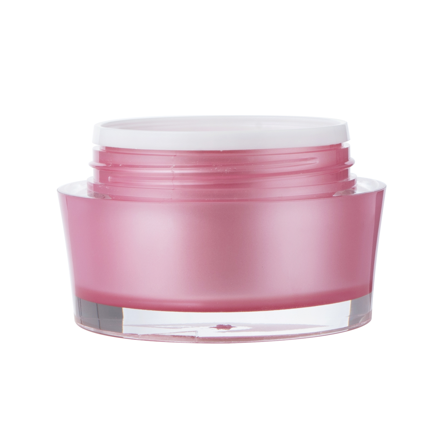15g 30g 50g V-shaped Acrylic Cosmetic Jar
