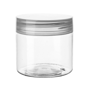 10g 15g 30g 50g 80g Clear Plastic PET Jar