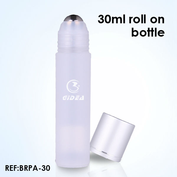 30ml Plastic Roll on Bottles with Metal Ball