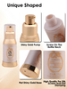 25ml 50ml Plastic Cosmetic Airless Bottles