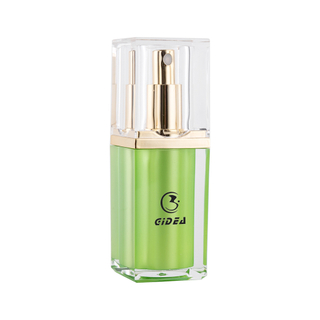 10ml 15ml PMMA Green Spray Cosmetic Lotion Bottle