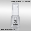 35ml Clear PET Bottle with Pump
