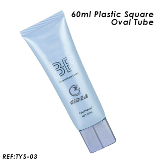 60ml Soft BB Cream Cosmetic Tube Packaging