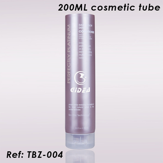 200ML Flip Cap Cosmetic Tubes Packaging
