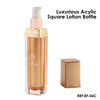 15ml 30ml Square Acrylic Lotion Square Bottle