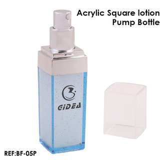 30ml 50ml 140ml Square shaped Lotion Pump Bottle