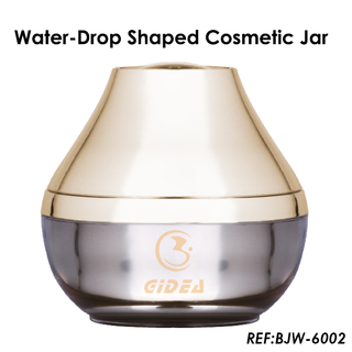 10g 30g 50g Water Drop Shaped Acrylic Cosmetic Cream Jar