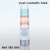 50g Silver Cosmetic Oval Tube
