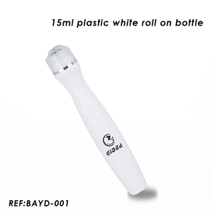 15ml Plastic Roll on Bottle with Metal Ball