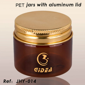 PET Jars with Aluminum Lid