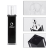 100ml black spray perfume plastic bottle