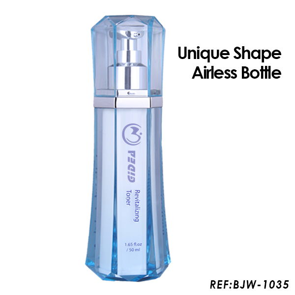 30ml 50ml Cosmetic Airless Pump Bottle