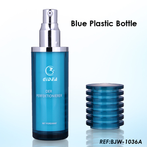 30/50ml Cylinder Plastic Bottle for Face Cream