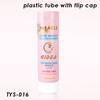 200g Pink Cosmetic Tube with Flip Top Cap