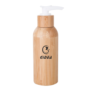 120ml Bamboo And Plastic Lotion Pump Bottle