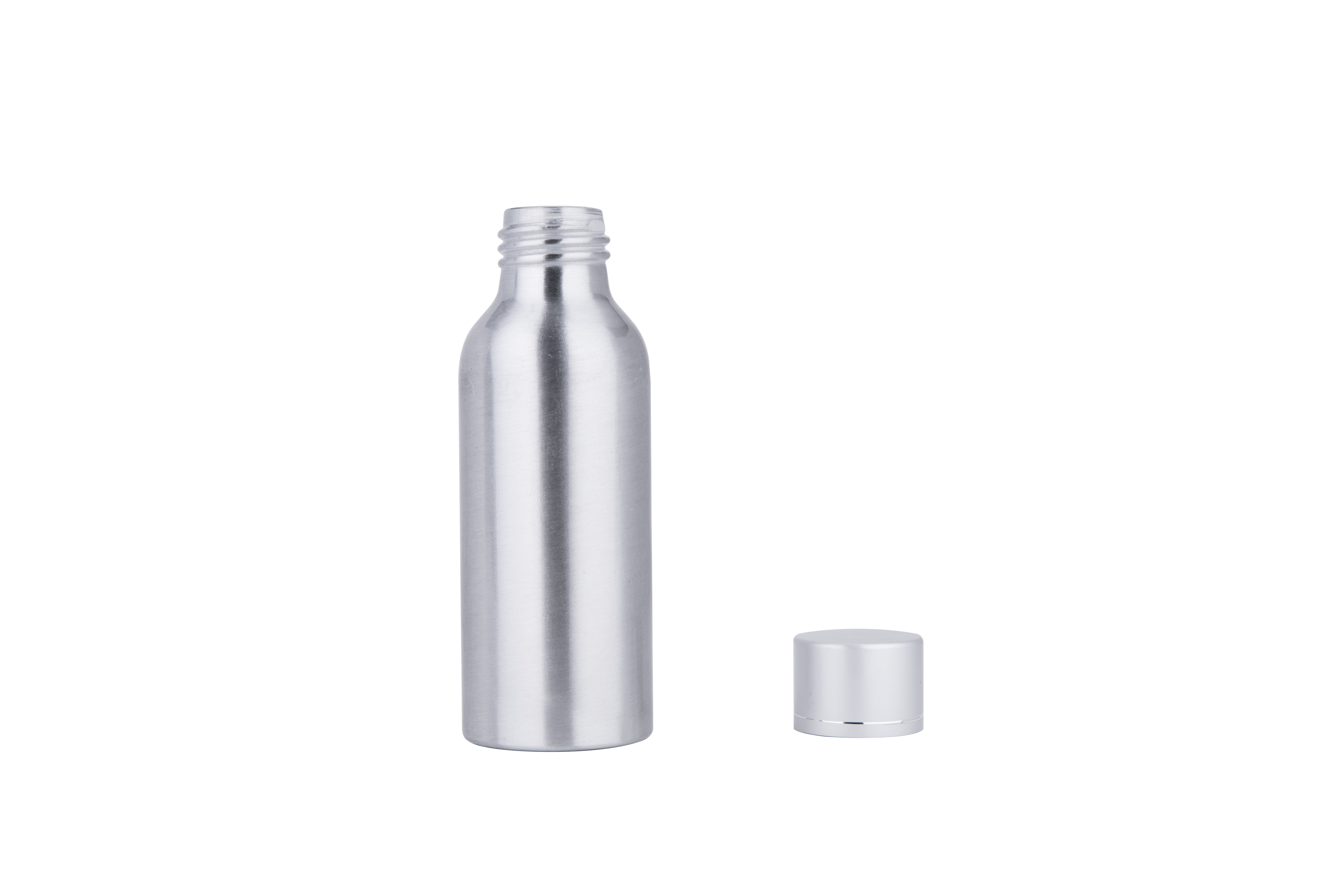 50ML 100ML 200ML 500ML Silver Essential Oils Aluminum Cosmetic Bottle