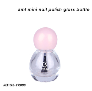 5ml Mini Ball Shaped Nail Polish Glass Bottle