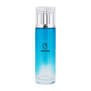 40ml 100ml 120ml Blue Color Glass Cosmetic Pump Bottle