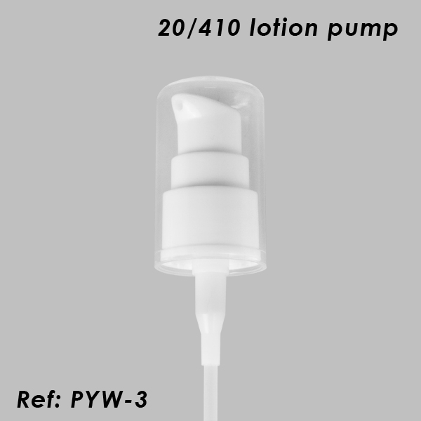 White 20/410 Lotion Pump Dispenser