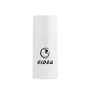 Round Cosmetic Plastic Bottle with Screw cap