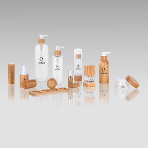 Bamboo Cosmtic Packaging Set Wholesale For Skin Care