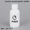 Boston Round Plastic Bottle