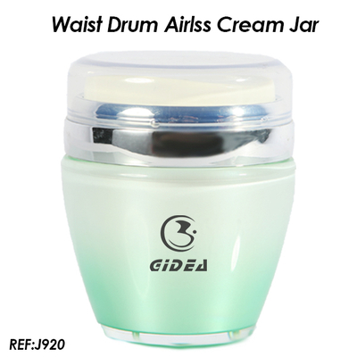 30ml 50ml Red Waist Drum Airless Cream Jar