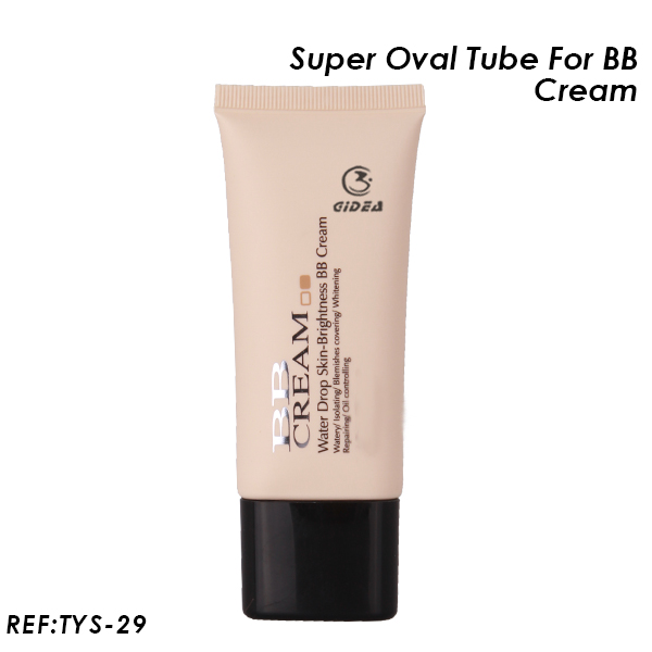 Super Oval Plastic Tube for BB Cream