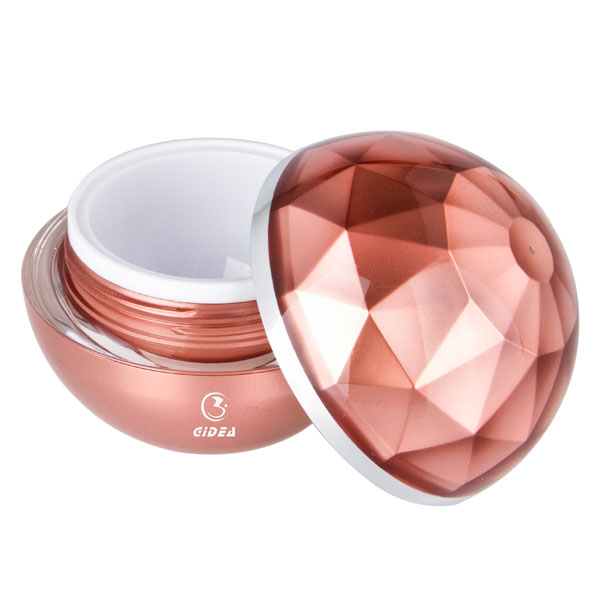 15g 30g 50g Double Wall Acrylic Cosmetic Ball Shape Cream Jar