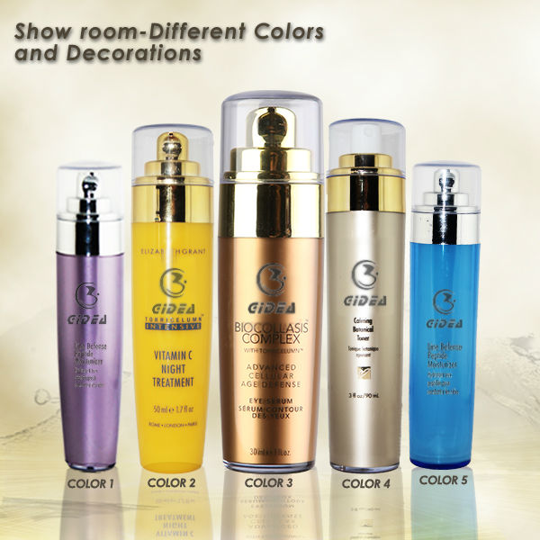 20ml 30ml 60ml 90ml Cosmetic Airless Pump Bottle