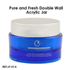 Pure and Fresh Double Wall Acrylic Jar